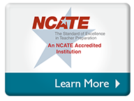 Accredited by NCATE